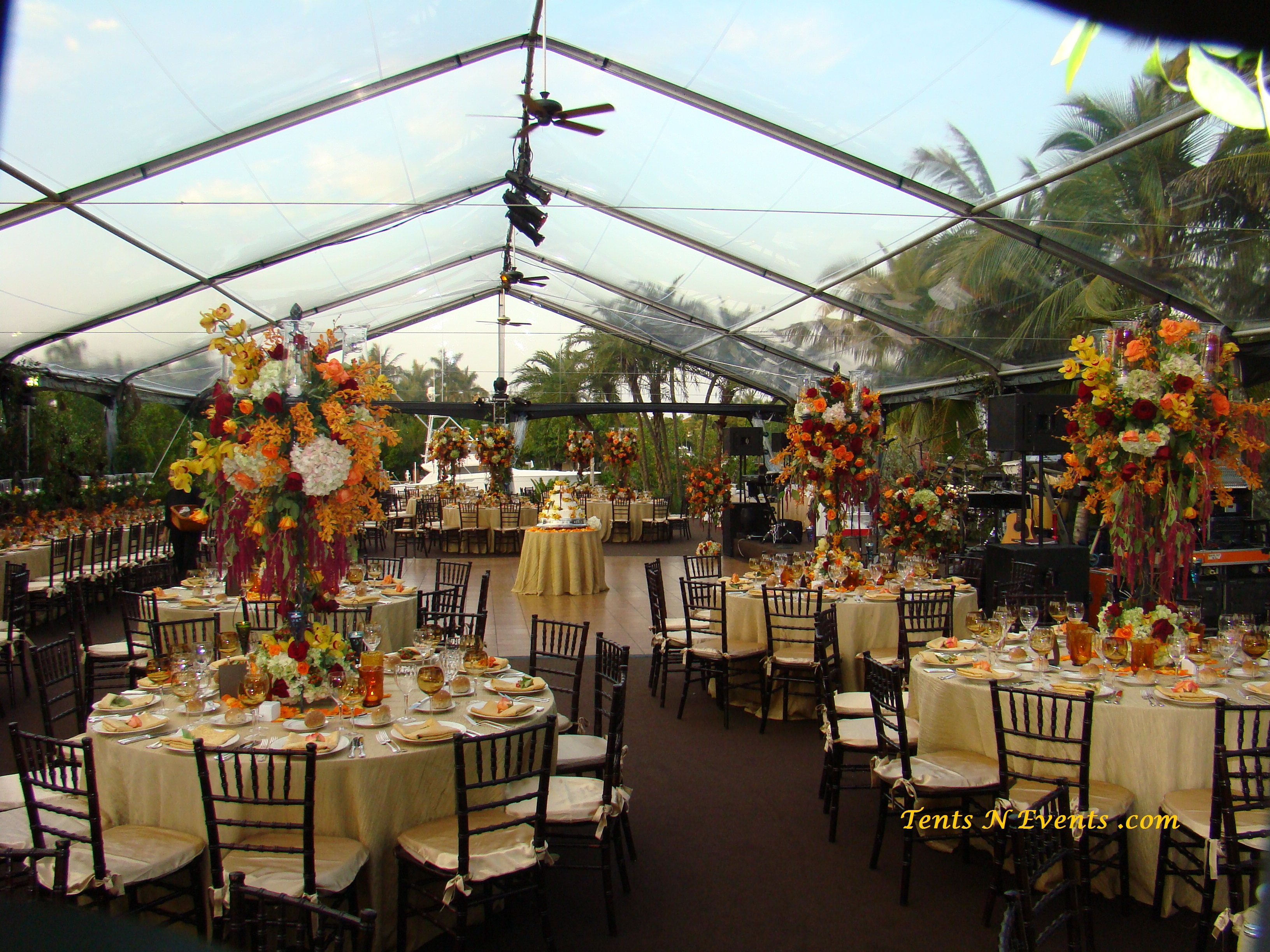 Clear Top Structure Tent- Miami